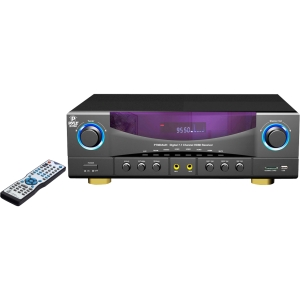 PylePro PT980AUH A/V Receiver - 350 W RMS - 7.1 Channel - Gray, Black - AM, FM - HDMI - 4 x HDMI In - 1 x HDMI Out - USB