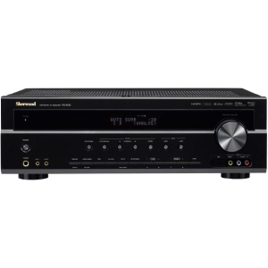 Sherwood RD-606i A/V Receiver - 5.1 Channel - Dolby Digital, DTS, DTS 96/24, Dolby Pro Logic II, Dolby Digital EX, Dolby Pro Logic IIx - 1 kHz - NTSC - FM, AM - Ethernet - 3 x HDMI In - 1 x HDMI Out - USB - iPod Supported - DLNA Certified
