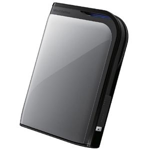 Buffalo MiniStation Extreme HD-PZU3 HD-PZ500U3S 500 GB External Hard Drive - Dark Silver - USB 3.0