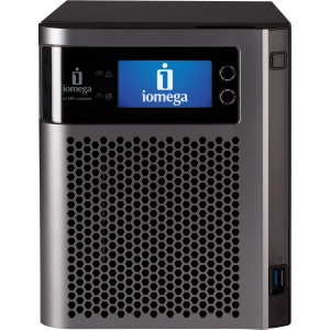 Iomega StorCenter Server Class px4-300d Network Storage Server - Intel Atom 1.80 GHz - 8 TB (4 x 2 TB) - RJ-45 Network, USB, USB