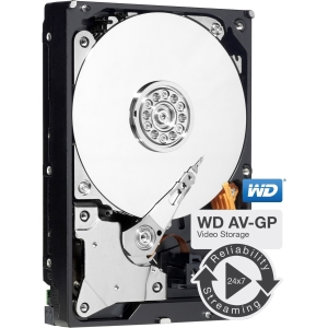 "WD AV-GP WD10EURX 1 TB 3.5"" Internal Hard Drive - SATA - 7200 rpm - 64 MB Buffer"