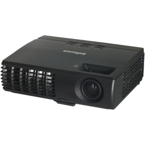 InFocus IN1124 DLP Projector - 720p - HDTV - 4:3 - 1024 x 768 - XGA - 2,500:1 - 3000 lm - HDMI - USB - VGA In - 320 W - Black Color - 2 Year Warranty