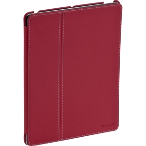 Targus THD00606US Carrying Case (Flap) for iPad - Red - Water Resistant