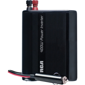RCA AH640R DC-to-AC Power Inverter - Input Voltage: 12 V DC - Output Voltage: 120 V AC, 5 V DC - Continuous Power: 400 W