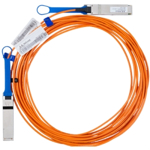 Mellanox Fiber Optic Cable - Fiber Optic for Network Device - 49.21 ft - QSFP