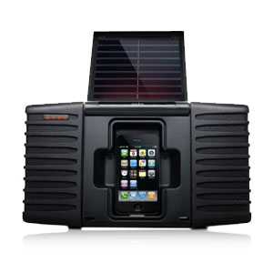 Etn Soulra Solar Powered Sound System for iPod &amp; iPhone