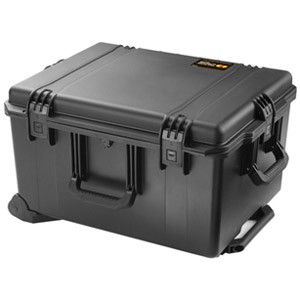 "Pelican Storm Case iM2750 Shipping Box with Padded Divider - Internal Dimensions: 17"" Width x 12.70"" Depth x 22"" Length - External Dimensions: 19.7"" Width x 14.4"" Depth x 24.6"" Length - HPX Resin - Black"