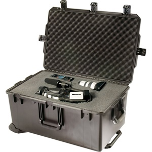 "Hardigg Storm Case Storm Trak iM2975 Shipping Case with Cubed Foam - Internal Dimensions: 13.80"" Height x 29"" Width x 18"" Depth - External Dimensions: 15.5"" Height x 31.3"" Width x 20.4"" Depth - Resin - Black"