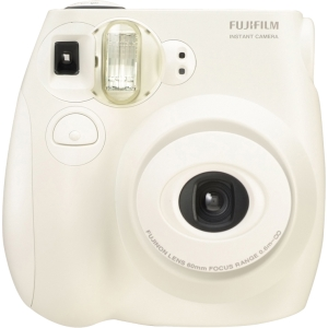 Fujifilm Instax Mini 7S Instant Film Camera - Instant Film - White