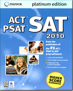 CollegeSuccess SAT/ PSAT/ ACT Platinum Edition