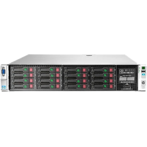 HP ProLiant DL380p G8 670852-S01 2U Rack Server - 2 x Intel Xeon E5-2670 2.6GHz - 2 Processor Support - 32 GB Standard - Serial Attached SCSI (SAS) RAID Supported Controller - Gigabit Ethernet - RAID Level: 0, 1, 1+0, 5, 5+0