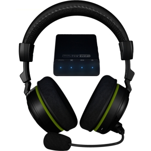 Turtle Beach Ear Force X42 Headset - Surround - Wireless - RF - 30 ft - 20 Hz - 20 kHz - Over-the-head - Binaural - Ear-cup - Condenser Microphone