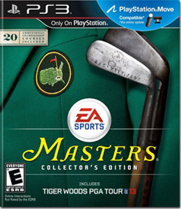 Tiger Woods PGA TOUR 13: The Masters Collector's Edition (PlayStation 3)