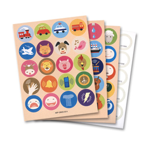 Franklin Anybook Sticker Package - Blue qty. 200 DAS-210B