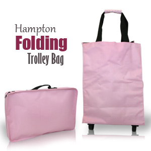 Hampton Folding Trolley Bag
