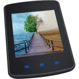 "GPX 4 GB Flash Portable Media Player - Audio Player, Video Player, Photo Viewer, Voice Recorder - 2.8"" Color LCD - Touchscreen - 6 Hour Audio - 2 Hour Video"