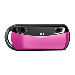 3D Camera and 3D Viewer Bundle (Pink)