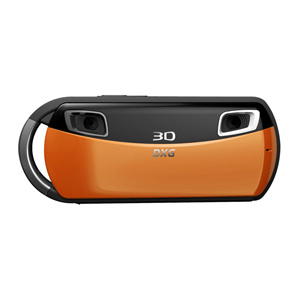 3D Camera and 3D Viewer Bundle (Orange)