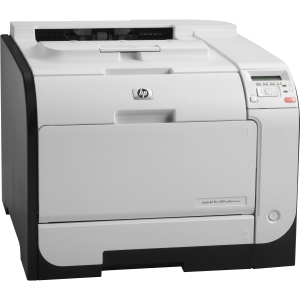 HP LaserJet Pro 400 M451NW Laser Printer - Color - 600 x 600 dpi Print - Plain Paper Print - Desktop - 20 ppm Mono / 20 ppm Color Print - 300 sheets Input - Manual Duplex Print - LCD - Fast Ethernet - Wi-Fi - USB