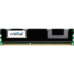 Crucial 4GB DDR3 SDRAM Memory Module - 4 GB - DDR3 SDRAM - 1333 MHz DDR3-1333/PC3-10600 - ECC - Registered - 240-pin - DIMM