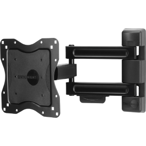 "OmniMount Classics NC80C Mounting Arm for Flat Panel Display - 23"" to 42"" Screen Support - 80.00 lb Load Capacity - Metal, Steel - Black"