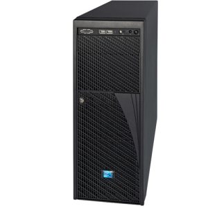 Intel Server Chassis P4208XXMHGC - Rack-mountable, Pedestal - 4U - 11 x Bay - 750 W