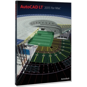 Autodesk AutoCAD LT 2013 - License - 1 Seat - Commercial - Intel-based Mac - Retail - DVD-ROM - English