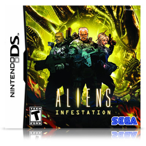 Aliens Infestation (Nintendo DS)