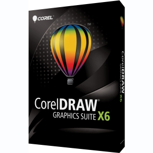 Corel CorelDRAW Graphics Suite v.X6 - Complete Product - 1 User - Graphics/Designing - Standard Retail - PC - English