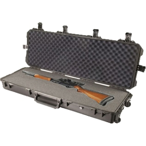 "Pelican iM3220 Storm Case (No Foam) - 3.03 ft³ - Internal Dimensions: 14"" Width x 8.50"" Depth x 44"" Length - External Dimensions: 16.5"" Width x 9.2"" Depth x 47.2"" Length - HPX Resin - Black"