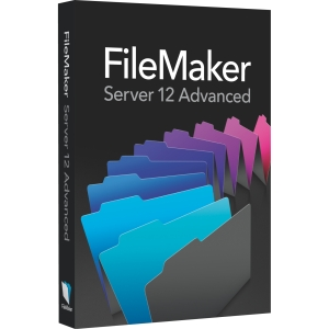 Filemaker v.12.0 Server Advanced - Upgrade Package - 1 Server - DBMS - Standard Box Retail - DVD-ROM - PC, Intel-based Mac - English, French