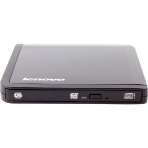 Lenovo DB60-WW External DVD-Writer - DVD-RAM/R/RW Support - 24x Read/24x Write/24x Rewrite CD8x Read/8x Write/8x Rewrite DVD - Double-layer Media Supported - USB 2.0