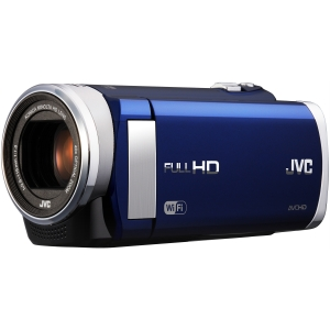 "JVC Everio GZ-EX210 Digital Camcorder - 3"" - Touchscreen LCD - CMOS - Full HD - Red - 16:9 - H.264/MPEG-4 AVC - 40x Optical Zoom - 200x Digital Zoom - Full HD - Speaker, Microphone - HDMI - USB - Secure Digital Extended Capacity (SDXC), Secure Digital (SD"