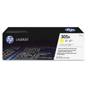 HP 305A Toner Cartridge - Yellow - Laser - 2600 Page - 1 Each