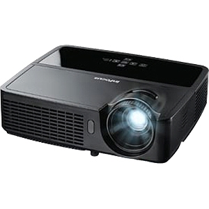 InFocus IN116 3D Ready DLP Projector - 720p - HDTV - 16:10 - NTSC, PAL, SECAM - 1280 x 800 - WXGA - 3,000:1 - 2700 lm - HDMI - USB - VGA In - 1 Year Warranty