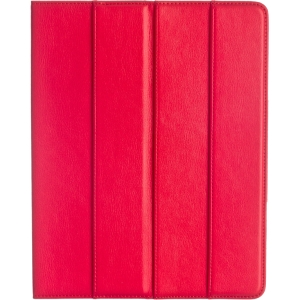M-Edge Incline Jacket Carrying Case for iPad - Red - Microfiber Leather