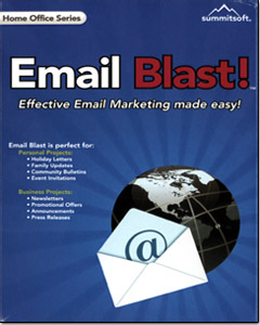 Email Blast - Stay connected through email marketing.