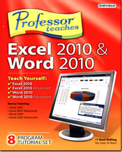 Professor Teaches Excel 2010 & Word 2010