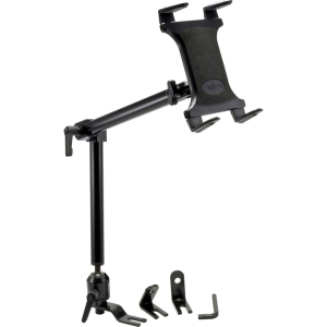 "ARKON Vehicle Mount for Tablet PC - 7"" to 12"" Screen Support - Aluminum - Black"