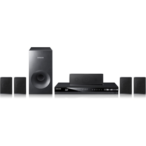Samsung HT-E3500 5.1 3D Home Theater System - 500 W RMS - Blu-ray Disc Player - Dolby Digital, Dolby Digital Plus, Dolby Pro Logic II, Dolby TrueHD, DTS, DTS 96/24, DTS HD - BD-R, DVD+RW, DVD-RW, CD-RW - BD Video, DVD Video, H.264, MPEG-2, MPEG-4, XviD, M