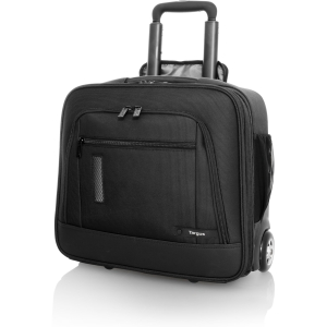 "Targus Revolution Compact TBR015US Carrying Case (Roller) for 15.6"" Notebook - Black - Nylon"