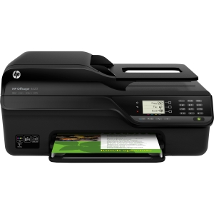 HP Officejet 4620 Inkjet Multifunction Printer - Color - Plain Paper Print - Desktop - Printer, Copier, Scanner, Fax - 23 ppm Mono/22 ppm Color Print - 8 ppm Mono/7.5 ppm Color Print (ISO) - 4800 x 1200 dpi Print - 6 cpm Mono/5.5 cpm Color Copy LCD - 1200