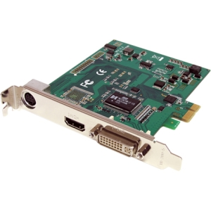 StarTech.com PCI Express HD Video Capture Card 1080p - HDMI / DVI / VGA/ Component - Functions: Video Capturing, Video Conversion, Video Encoding - PCI Express x1 - PAL, NTSC, PAL-M, PAL60 - 1 Pack