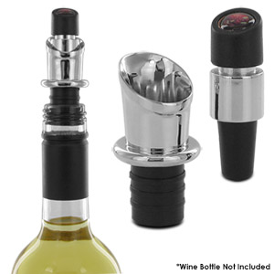 Napa Essentials Deluxe Wine Bottle Stopper & Pourer