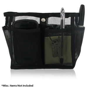 Perfect Solutions Handbag Organizer - Clear