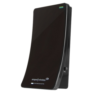Amped Wireless UA2000 High Power Wireless-N Directional Dual Band USB Adapter - Long Range, Dual Band Wi-Fi-N, High Gain Directional Antenna, 3X Range