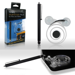 Targus Gaming Pack for iPad and Tablets - Includes Stylus and Fling Joystick