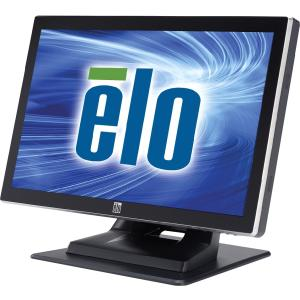"Elo 1519L 15.6"" LCD Touchscreen Monitor - 16:9 - 8 ms - Projected Capacitive - Multi-touch Screen - 1366 x 768 - Adjustable Display Angle - 16.7 Million Colors - 500:1 - 250 Nit - Speakers - USB - VGA - Black"