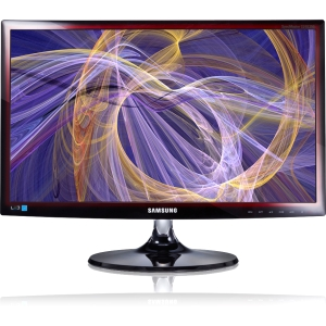 Samsung SyncMaster S24B350HL 24&quot; LED LCD Monitor - 16:9 - 2ms - TAA - Yes - 1920 x 1080 - 16.7 Million Colors - 250Nit - 1,000:1 - Yes - Yes - Transparent Red - Energy Star, EPEAT Gold