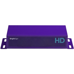 BrightSign HD220 Networked Looping Model - Affordable, Full HD, Live Media Feeds - 256 MB DRAM - Fast Ethernet